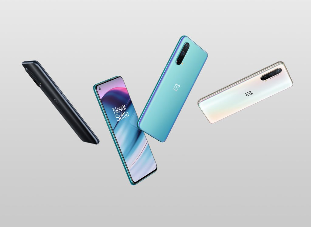 OnePlus Nord CE 5G colors diversos